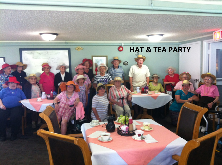 Tea and Hat Party