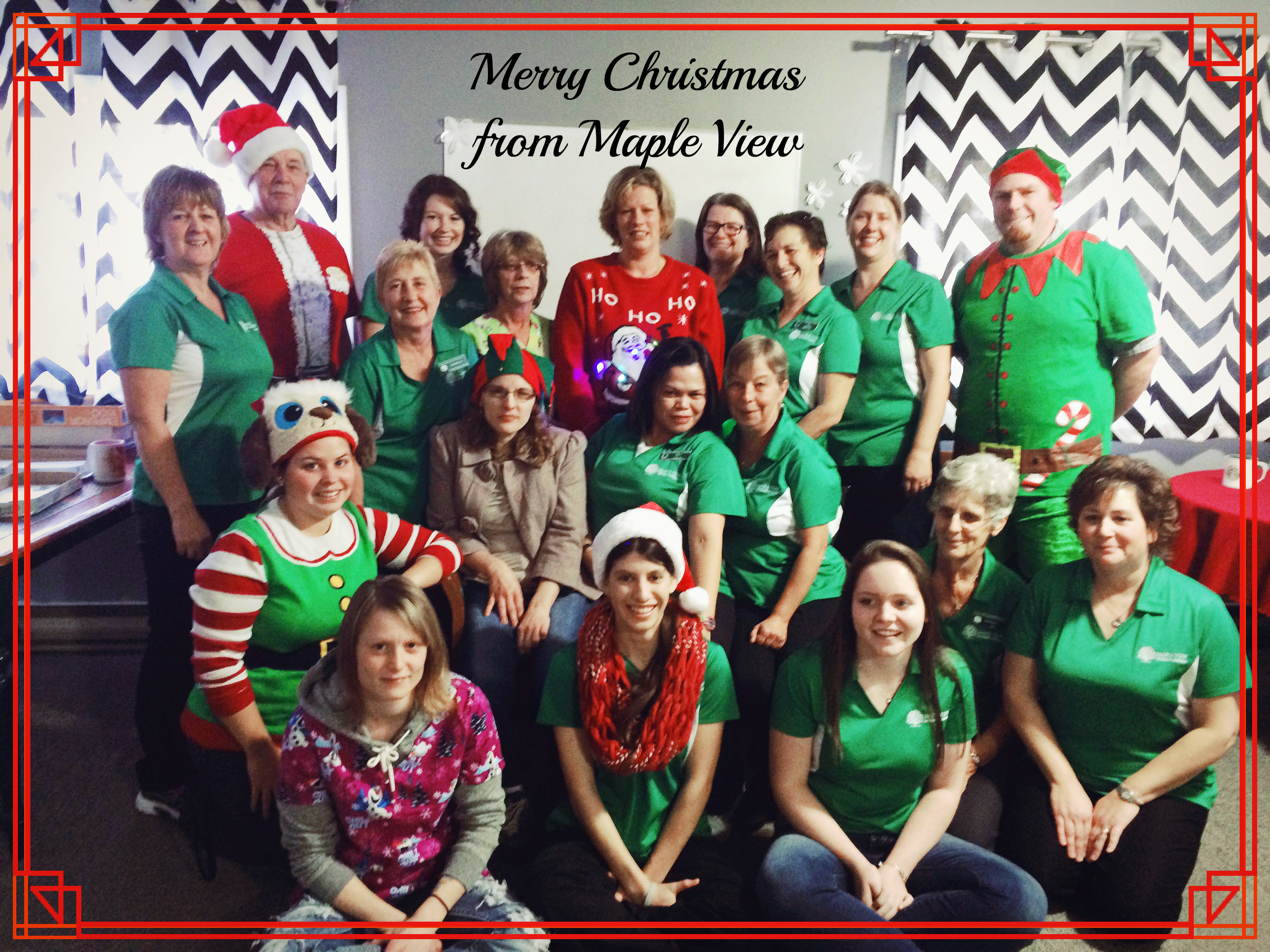 Merry Christmas From Maple View