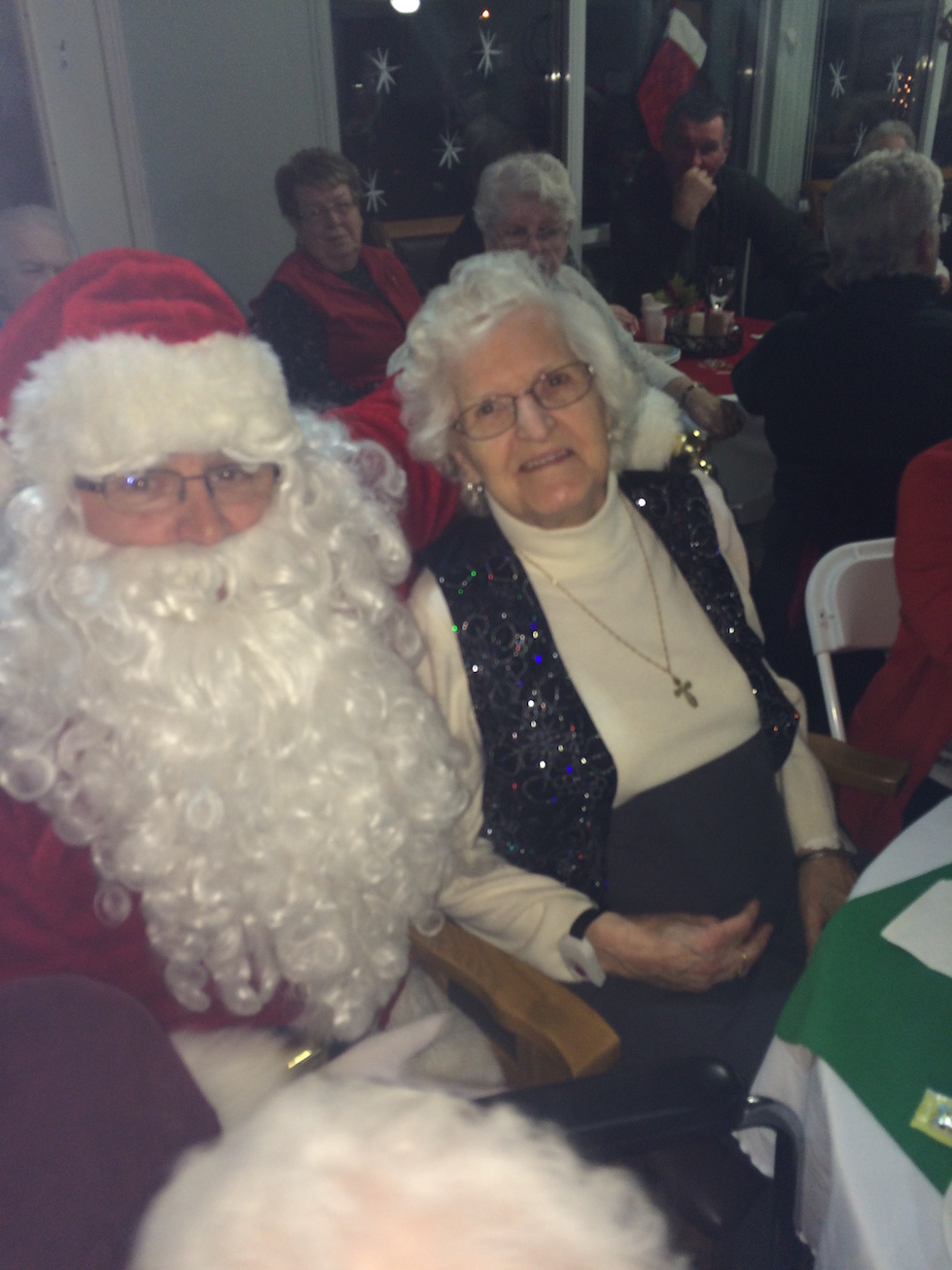 Pictures from the Resident Christmas Party