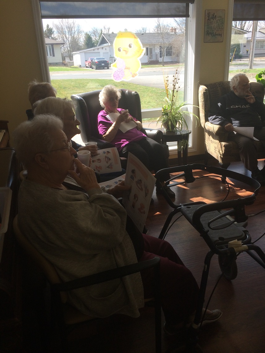 Diabetic In-service with Vera