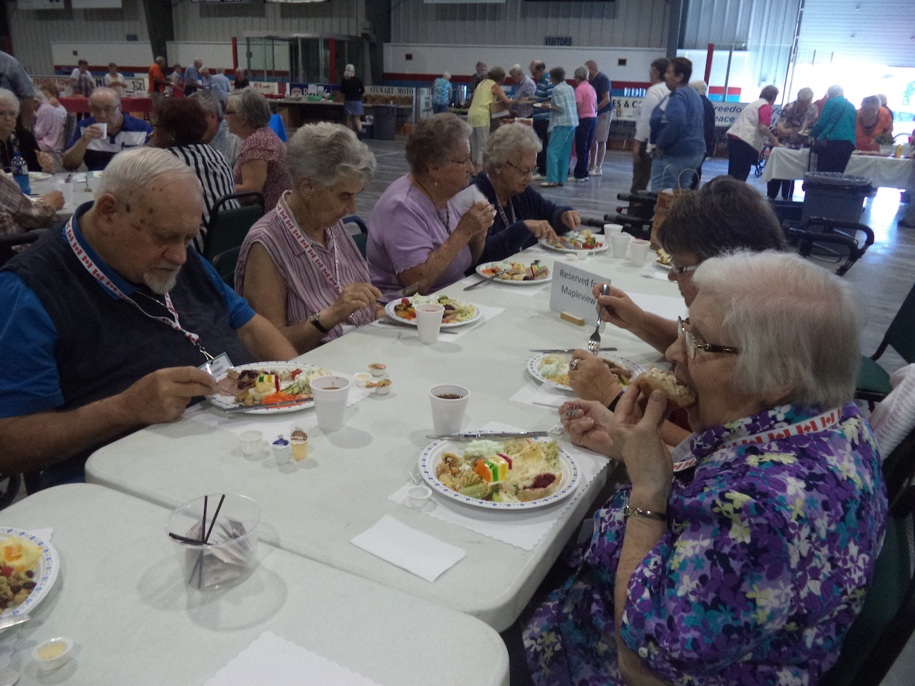 Strawberry Supper in Norwood