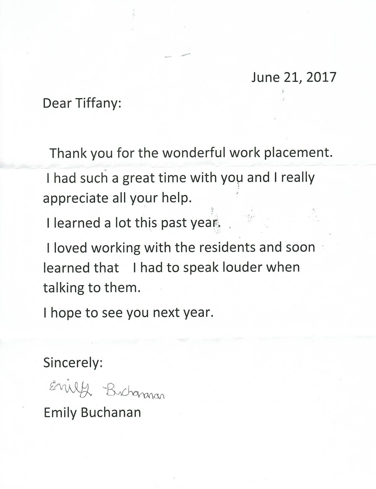Testimonial – Emily